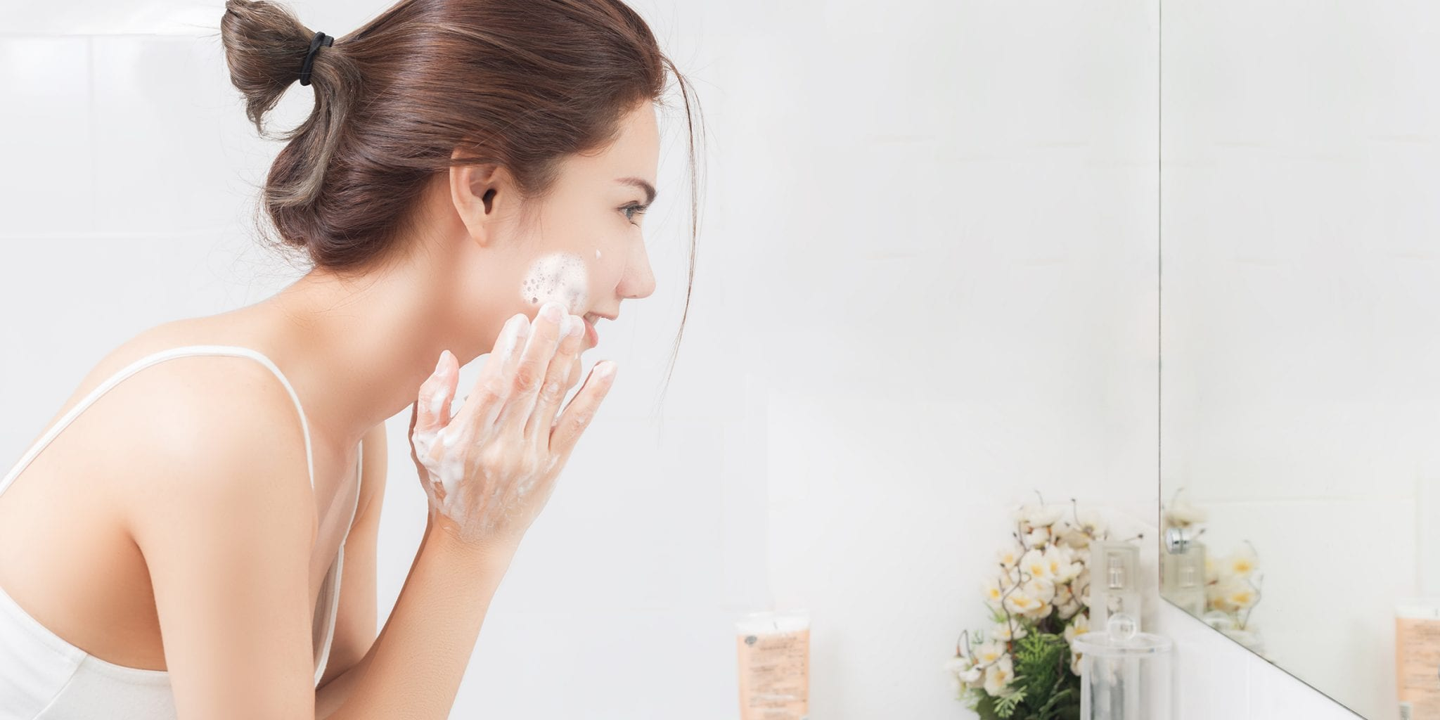 "Tip to Prevent ""Maskne"": Look For A Gentle Cleanser"