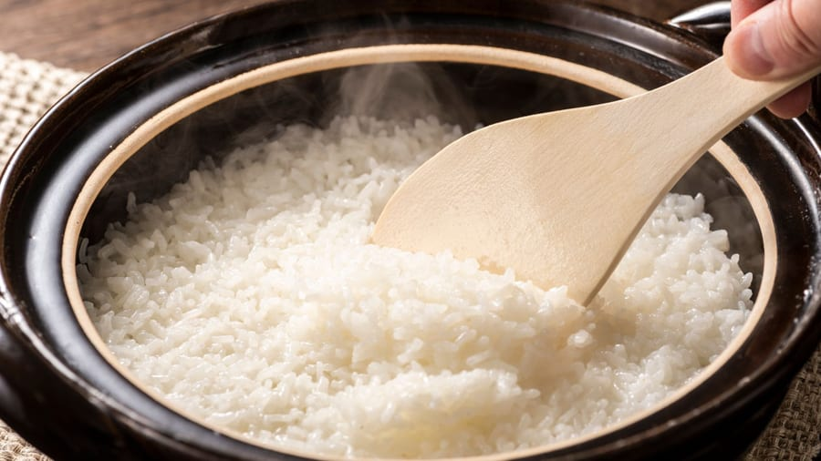 Air Fryer Mistake #4: Rice