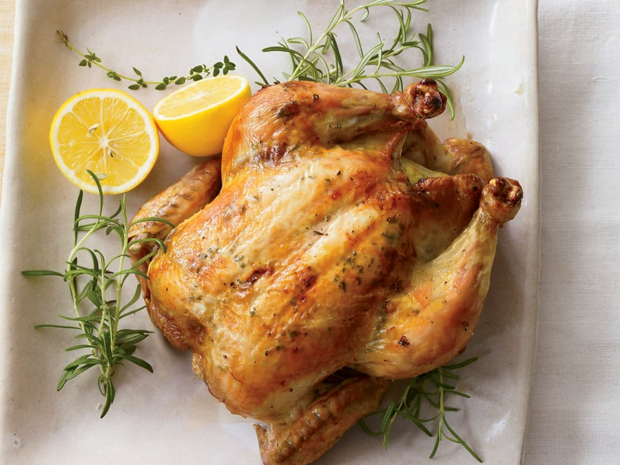 Air Fryer Mistake #8: Large Whole Chicken