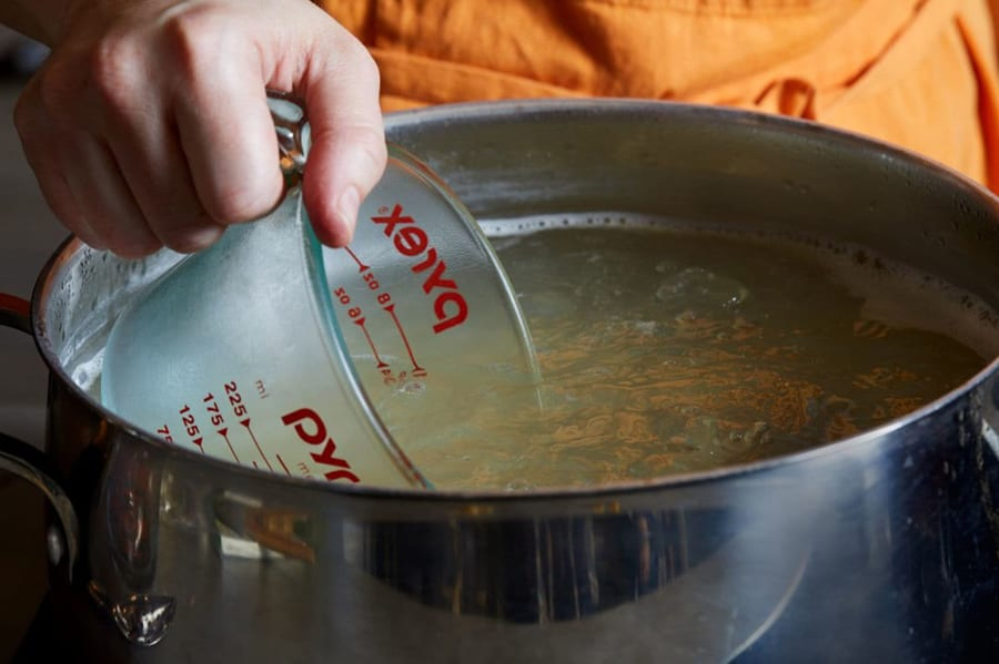 Pasta-Cooking Mistake #5: You Didn't Save Some Pasta Water