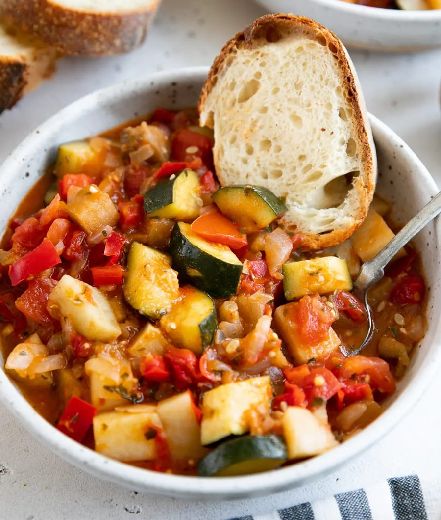 Canned Tomato Recipe #6: Ratatouille