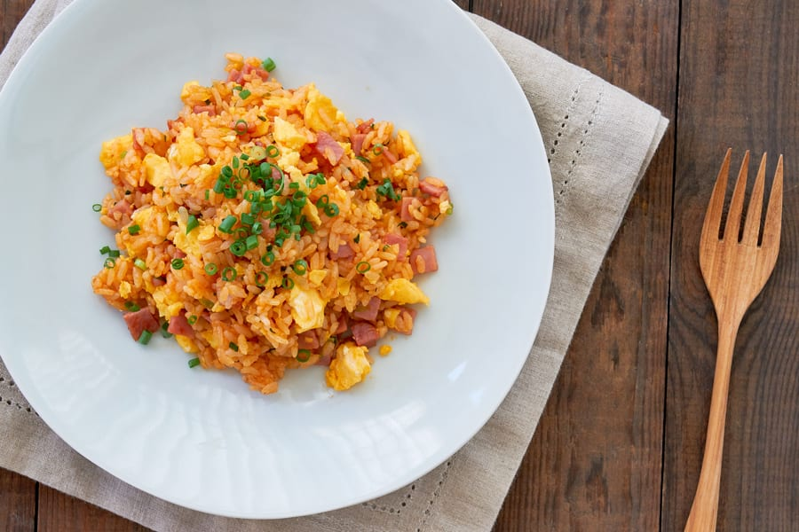 Canned Tomato Recipe #1: Tomato Fried Rice