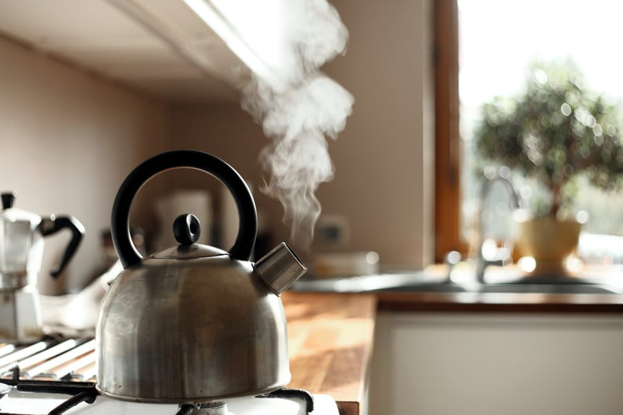 Perfect Tea Tip #2: Never Reboil The Kettle