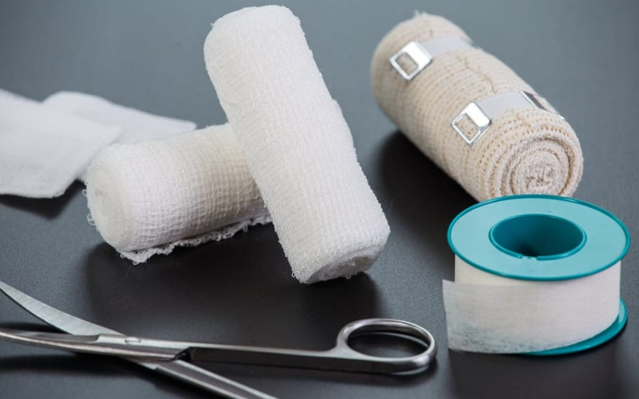 Things You Shouldn't Flush Down The Toilet: Bandages