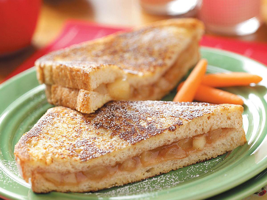 Grilled Applesauce Sandwich